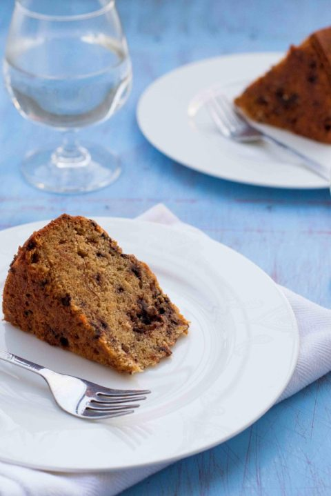 Banana Chocolate Chip Cake 2