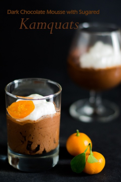 Dark Chococlate Mousse With Sugared Kamquats 3