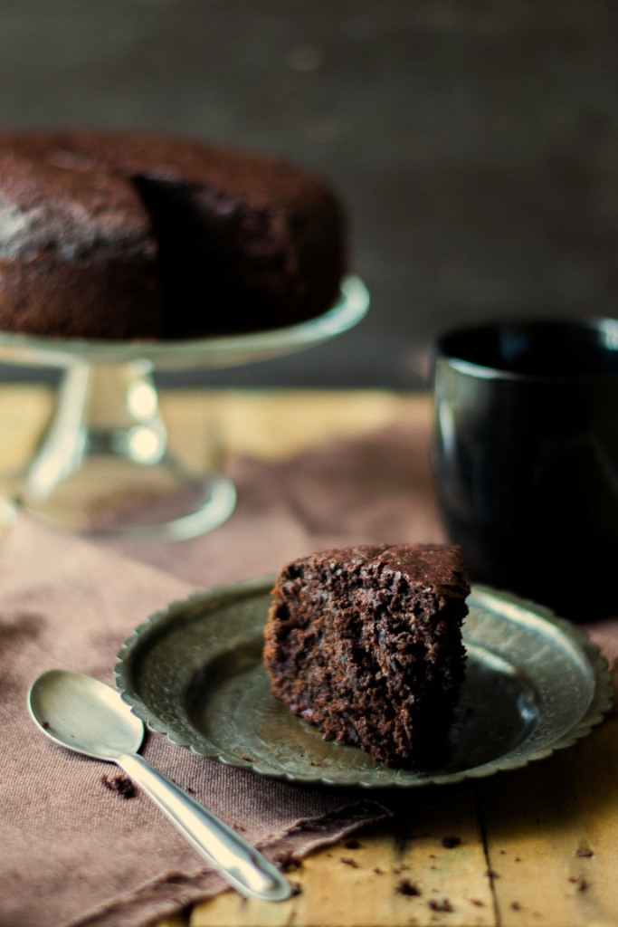 Beetroot Chocolate Olive Oil Cake - The White Ramekins