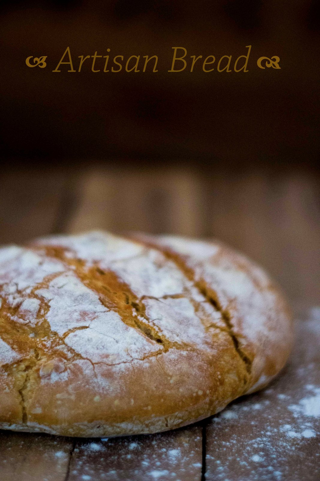 No Knead Crusty Artisan Bread - The White Ramekins